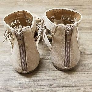 Brash Shoes - BRASH Fringe gladiator sandals